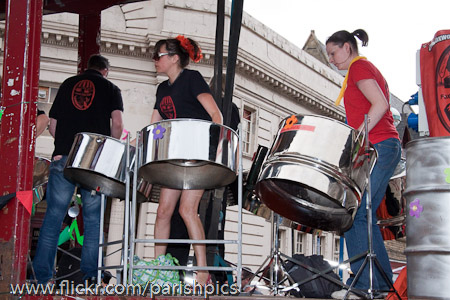 Foxwood Steel at Manchester Carnival