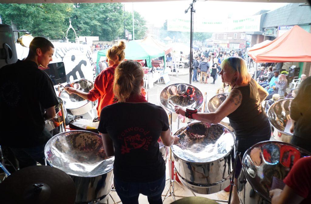 Foxwood Steel at Leeds Carnival Village 2016