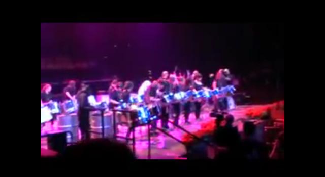 Sparrows at Albert Hall 2009