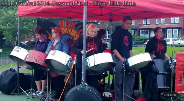 Foxwood Steel in Savile Park Leeds Carnival Monday 2015