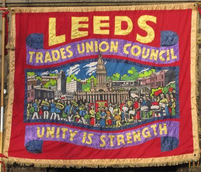 Foxwood Steel on Leeds TUC banner