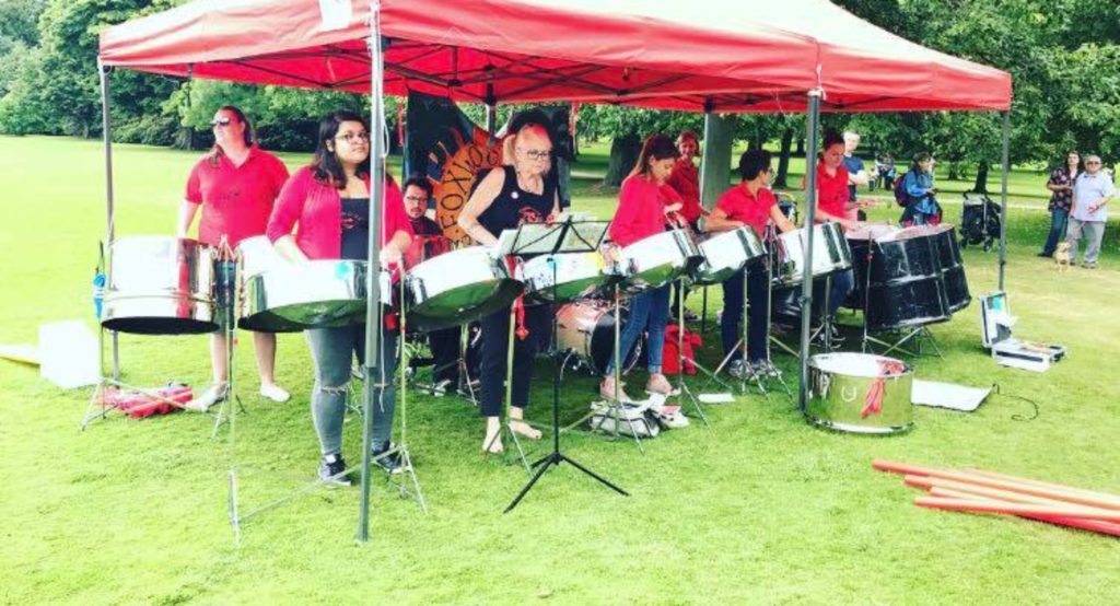 Foxwood Steel at Yorkshire Sculpture Park July 2017