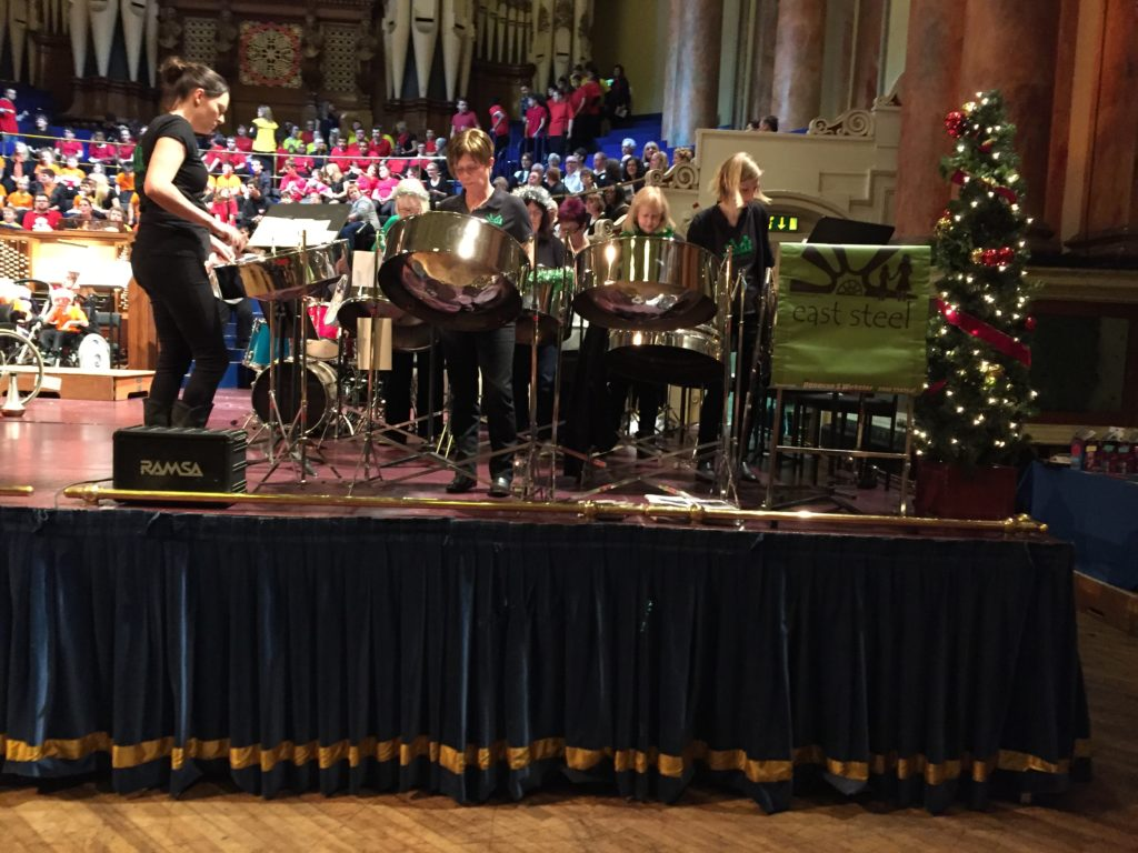 East Steel at YAMSEN:SpeciallyMusic Winter Concert Leeds Town Hall 2016