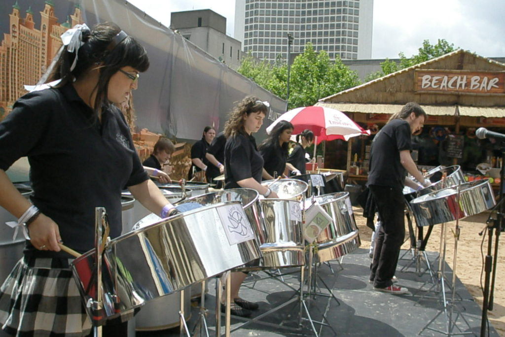 Leeds Silver Doves in Chamberlain Square 2008 for Music For Youth