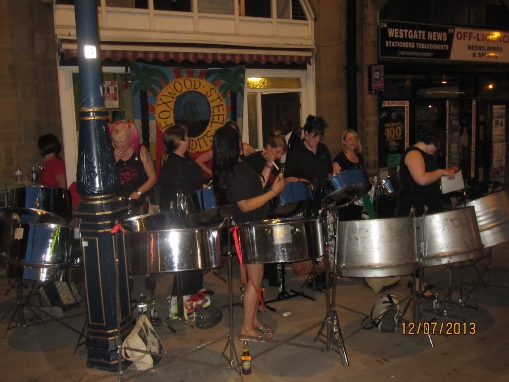 Foxwood Steel at J'Ouvert Huddersfield Carnival 2013