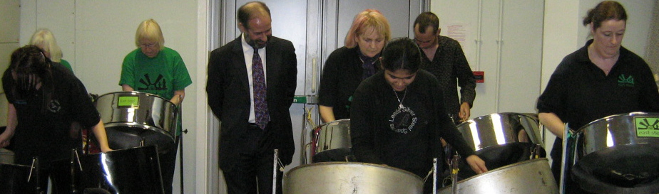 East Steel, Sparrows 2007 Chapeltown Children's Centre with local MP