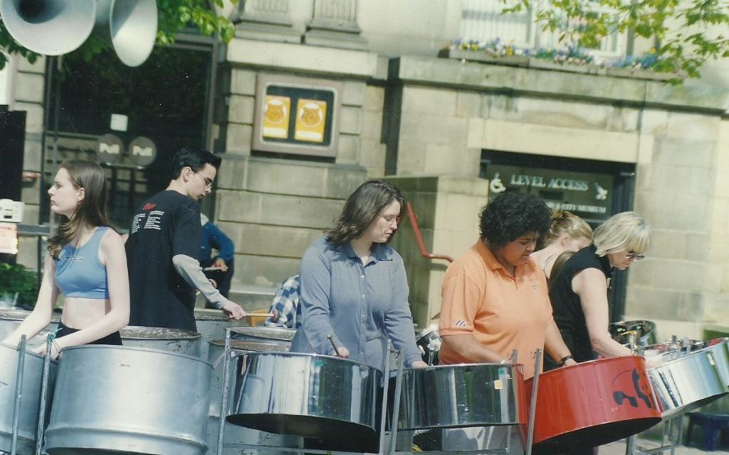 Foxwood 1999 at TUC rally