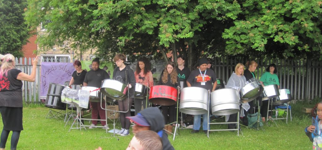 Sparrows 2013 and East Steel at Holy Rosary Chapeltown Leeds
