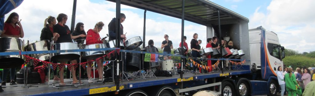 Foxwood at East Steel 2018 at Otley carnival