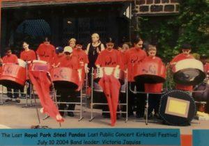 Royal Park Steel Pandas 2004 last ever gig at Kirkstall festival