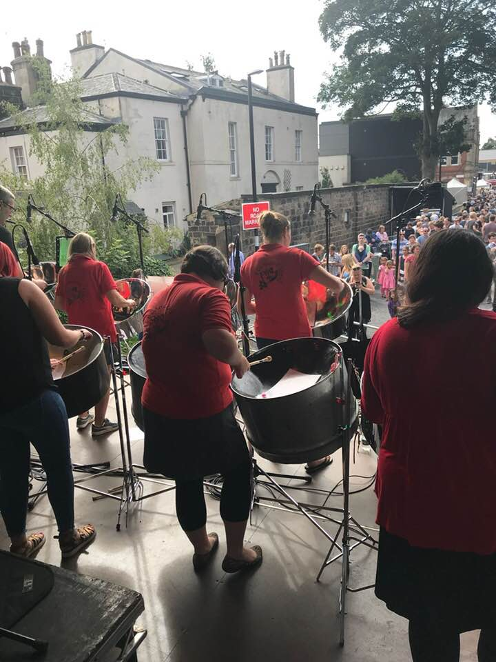 Foxwood Steel 2018 at Chapel Allerton Festival