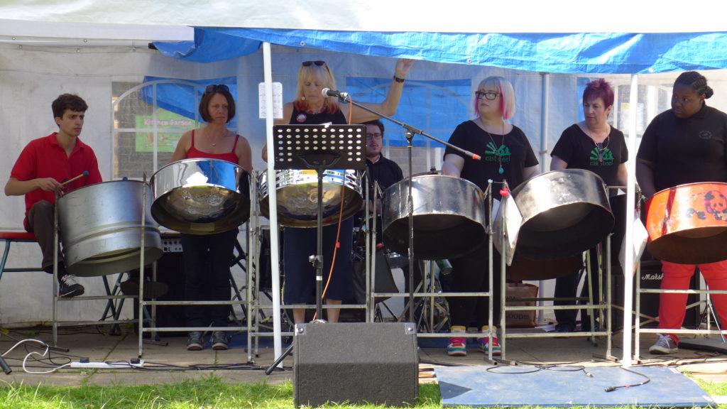 """""""Sparrows"""" 2014 at Headingley Festival Shire Oak"""