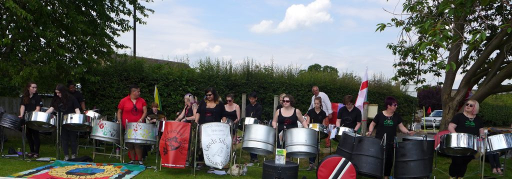 Foxwood and Sparrows 2014 at Collingham Cricket Club