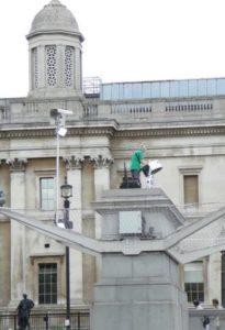 Joyce East Steel on the Fourth Plinth Trafalgar Square