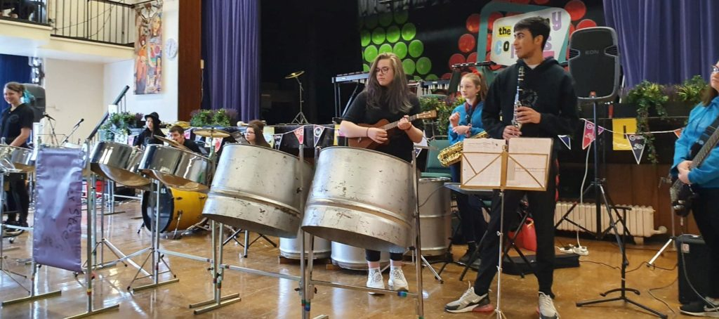 Sparrows 2020 at Colne Valley Music For Youth