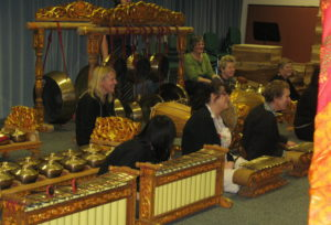 The Gamelan that the Sparrows whose Grand Arrival Sparrows played for 2008