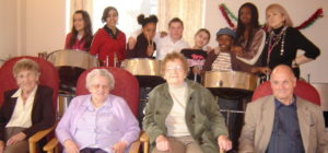 COLS steelband 2006 at Harrison Potter Care Home
