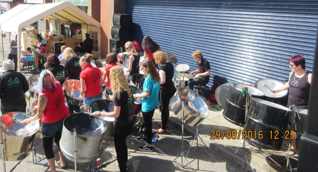 Foxwood Steel at Leeds Carnival Village 2016
