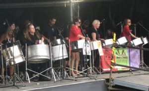Leeds Pan Central at Leeds Carnival mainstage 2005/6