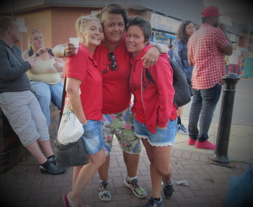 Lottie Natnat Vicky Leeds Carnival 2017