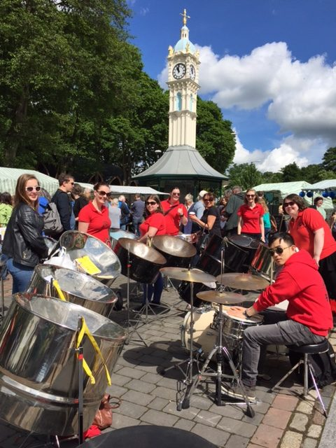 Foxwood Steel at Oakwood Clock 2017