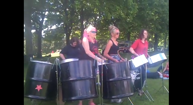 Foxwood Steel on Woodhouse Moor 2014