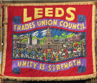 Foxwood Steel on Leeds TUC banner
