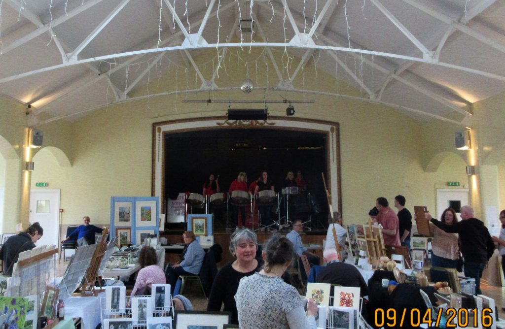Foxwood at Moortown Art Materials Swap 2016
