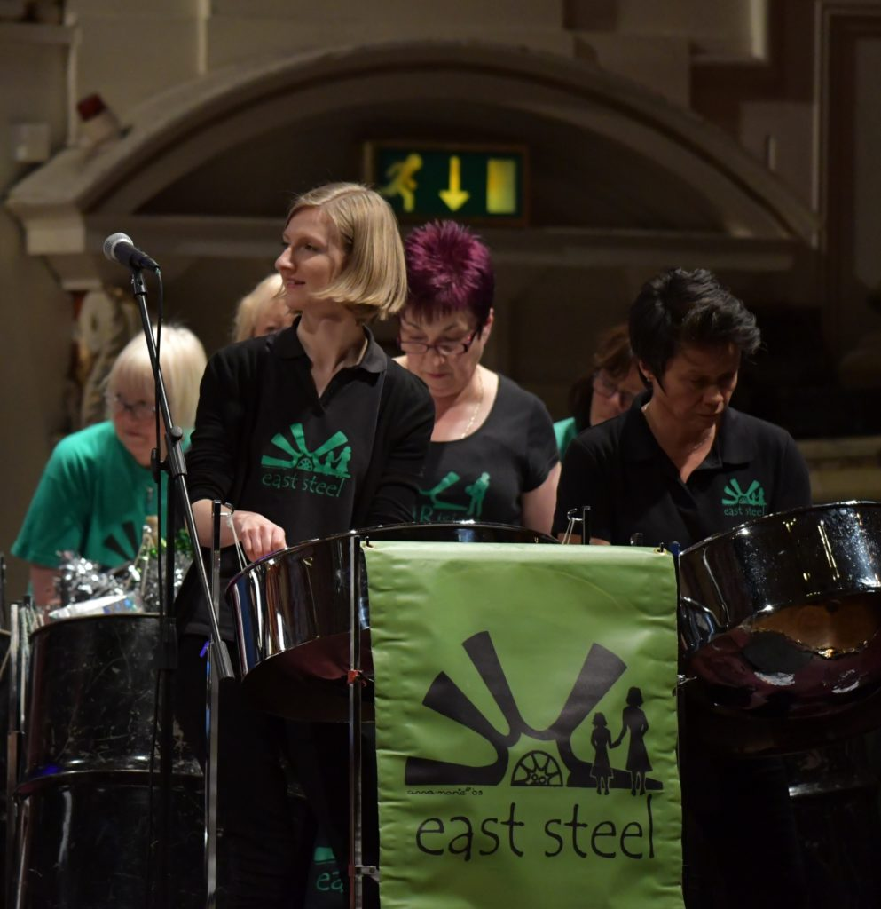 East Steel at Leeds Town Hall for YAMSEN:SpeciallyMusic concert