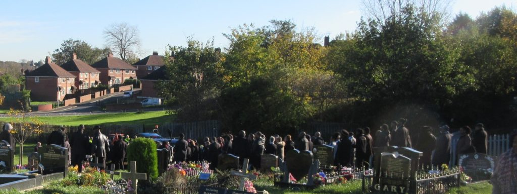 StClair laid to rest in Harehills Cemetery 2017