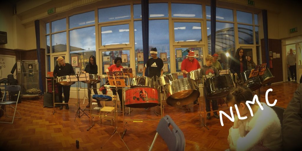 North Steel at North Leeds Music Centre concert December 2017