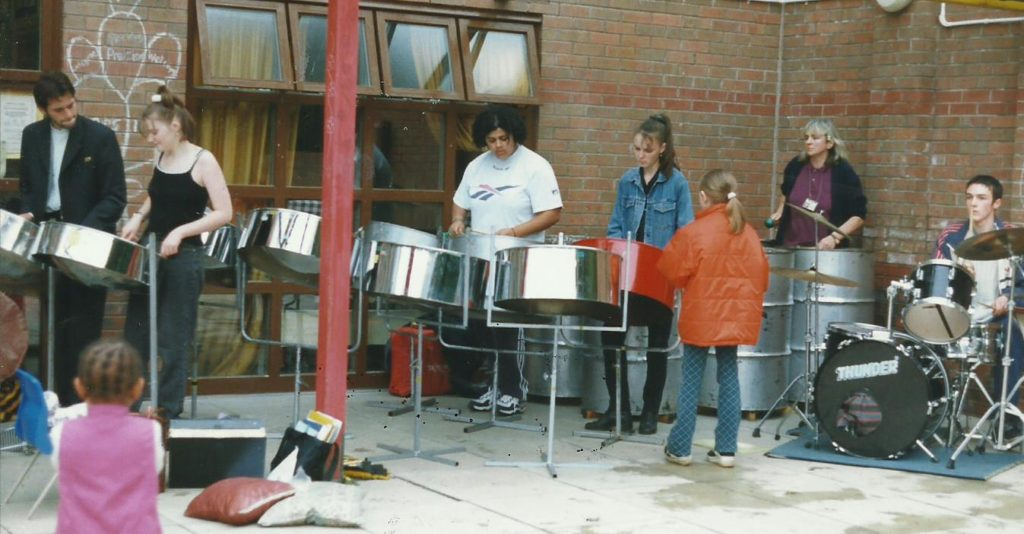 Foxwood Steel at Precious Ones Nursery Chapeltown Road, Leeds  late nineties