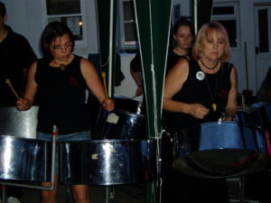 Foxwood Steel at Lifeboat Day, Staithes 2005