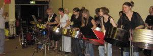 Culford2007 steel pan workshop at Suzuki Cello summer school
