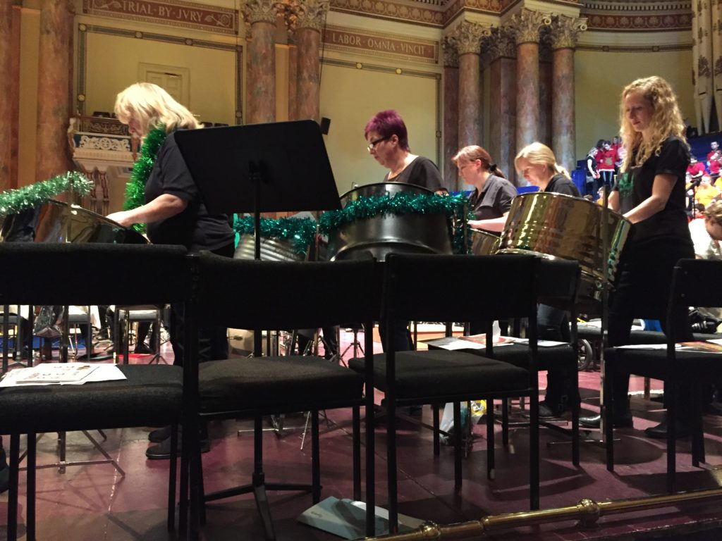 East Steel Leeds Town Hall YAMSEN:SpeciallyMusic 2016