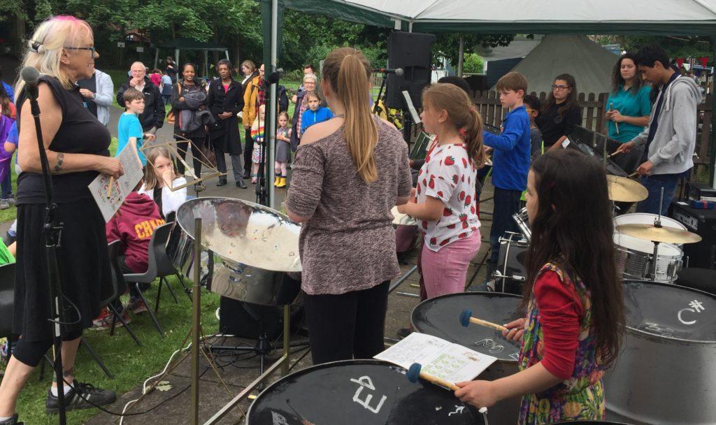 Shire Oak Steel 2017 at Headingley Festival