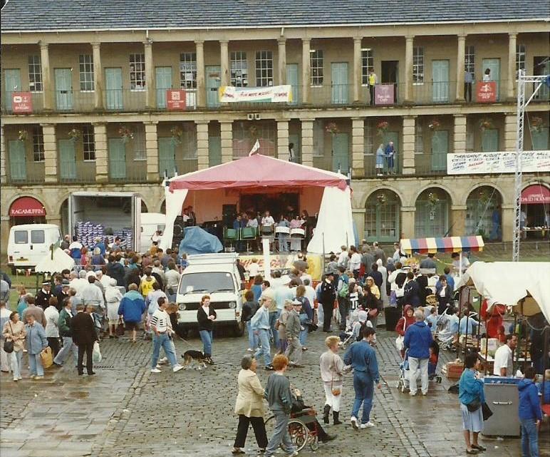 Foxwood 1989 at Halifax Piece Hall