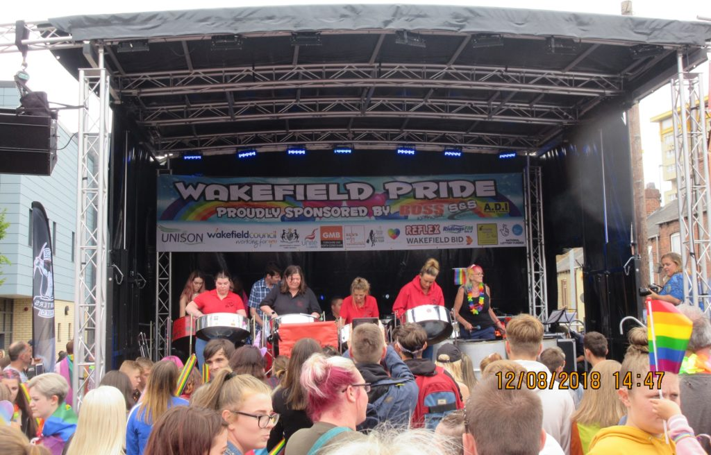 Foxwood 2018 August at Wakefield Pride