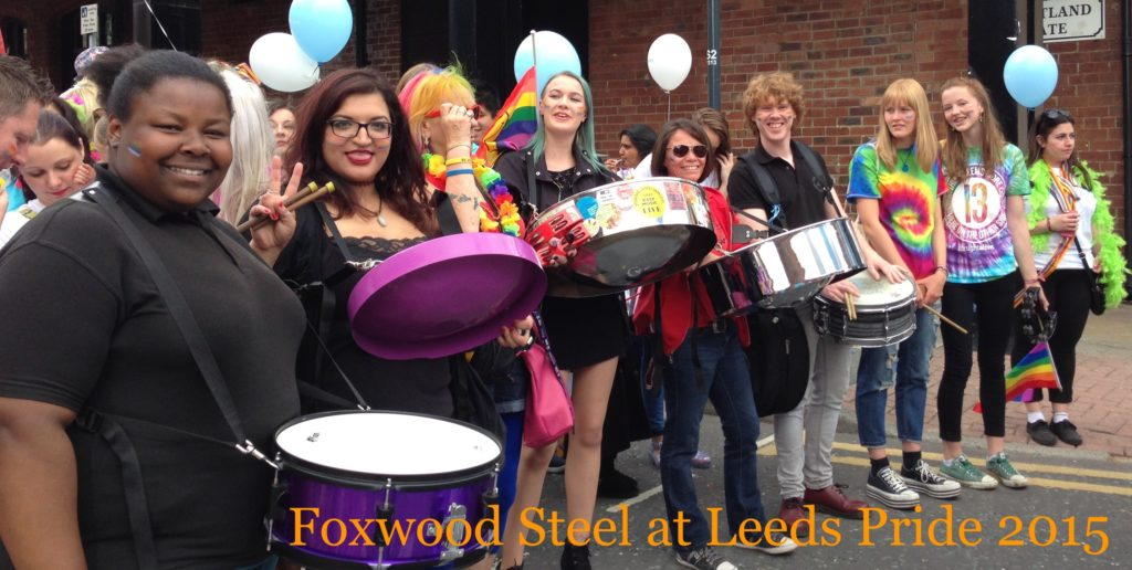Foxwood Sparrows 2015 Leeds Pride