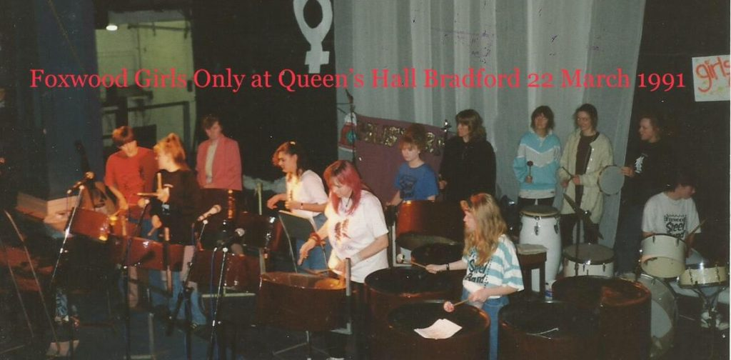 Foxwood The Girls 1991 Bradford Queens Hall