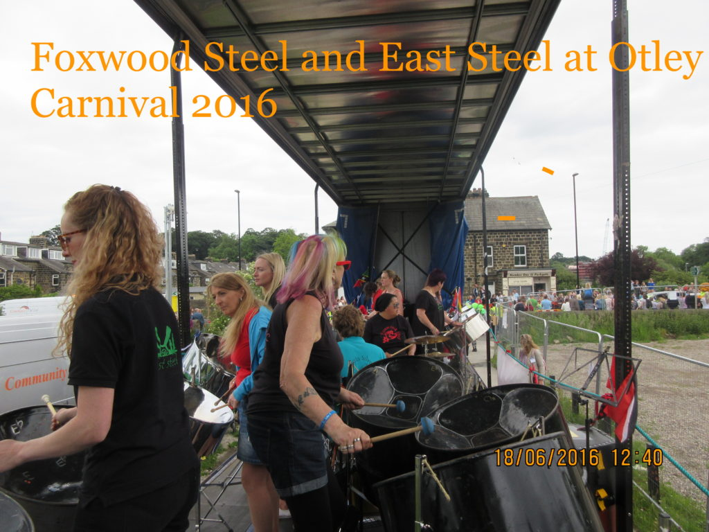 Foxwood and East Steel 2016 Otley Carnival