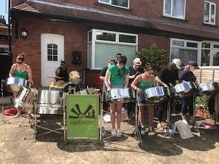 East Steel 2019 at street party in Leeds
