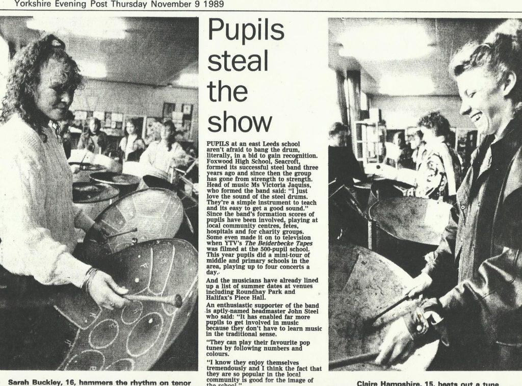 Foxwood 1989 in YEP in Music Room