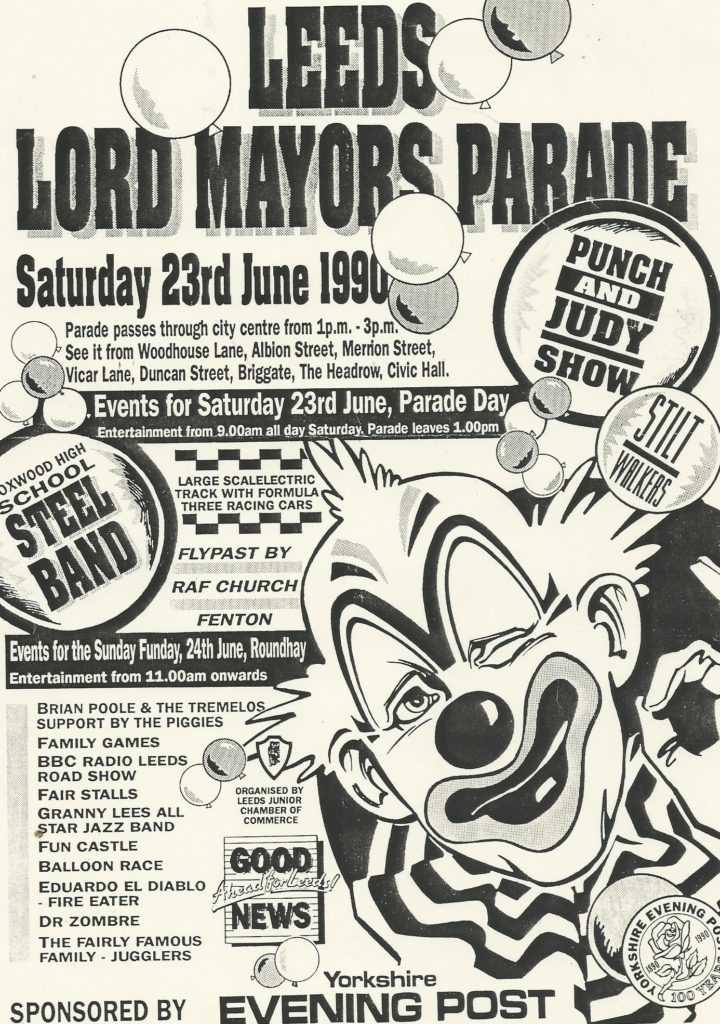 Foxwood 1990 at Leeds Lords Mayors Parade