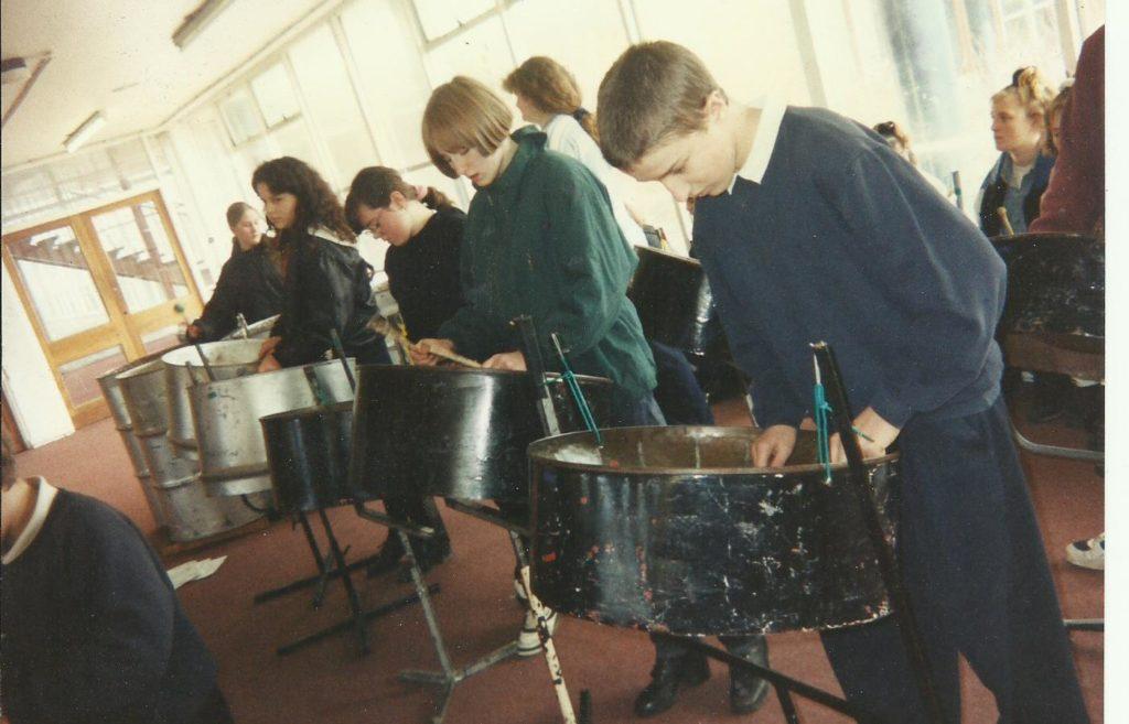 Foxwood c 1994 in school hall