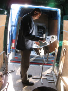 Grafton testing pan 2008 van to van