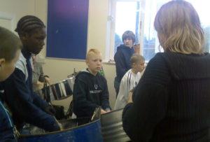 Half term pan workshop2006 in Bramley