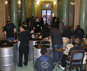 Sparrows 2006 at Leeds Civic Hall to welcome Jamaican delegation