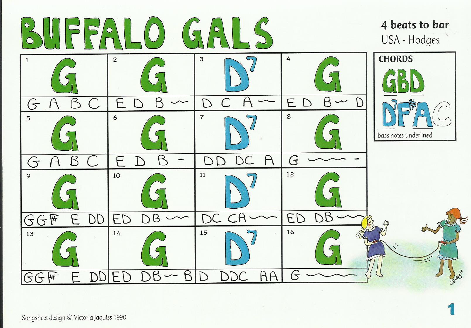 AAA Buffalo Gals