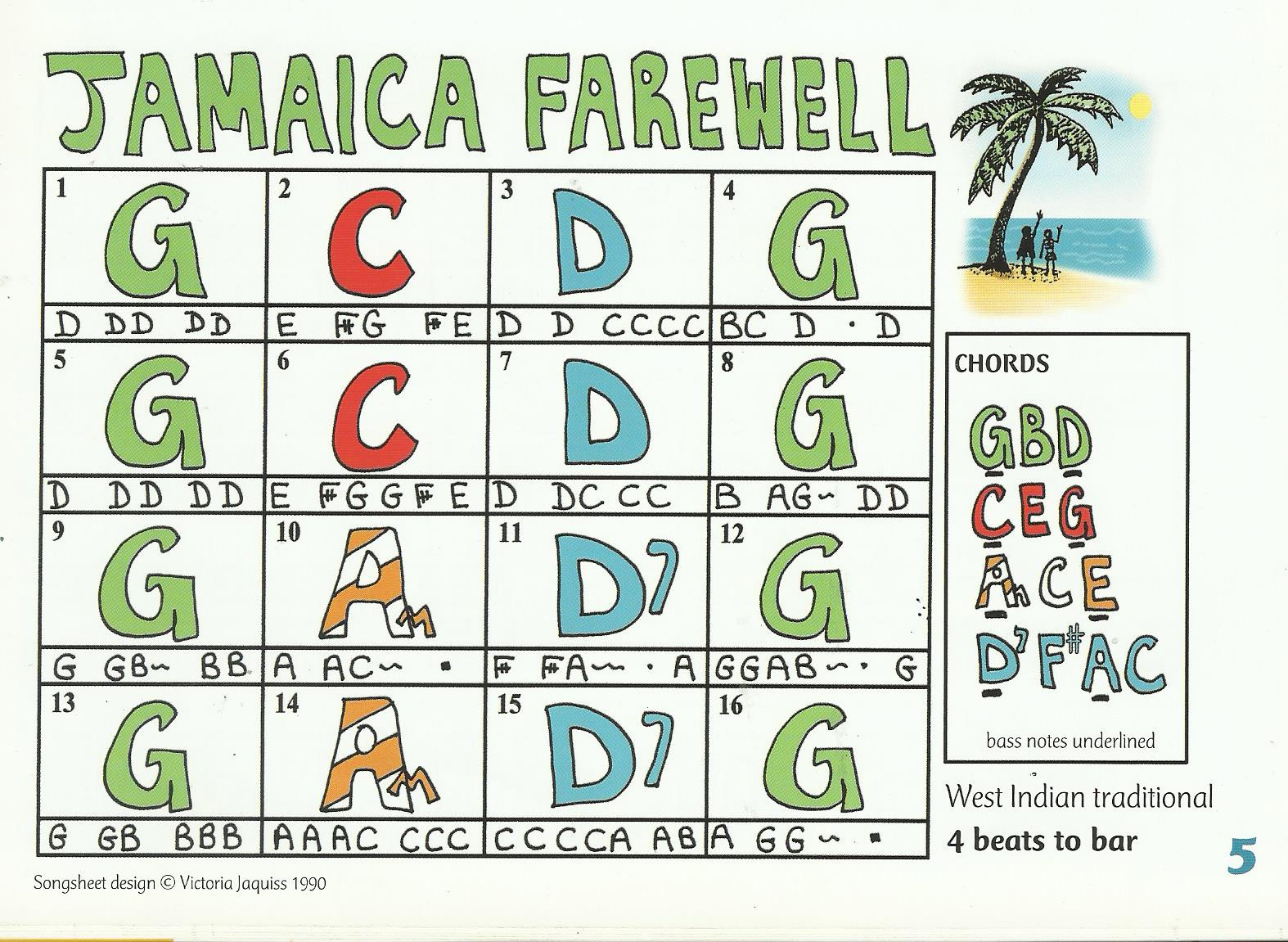 AAA Jamaica Farewell